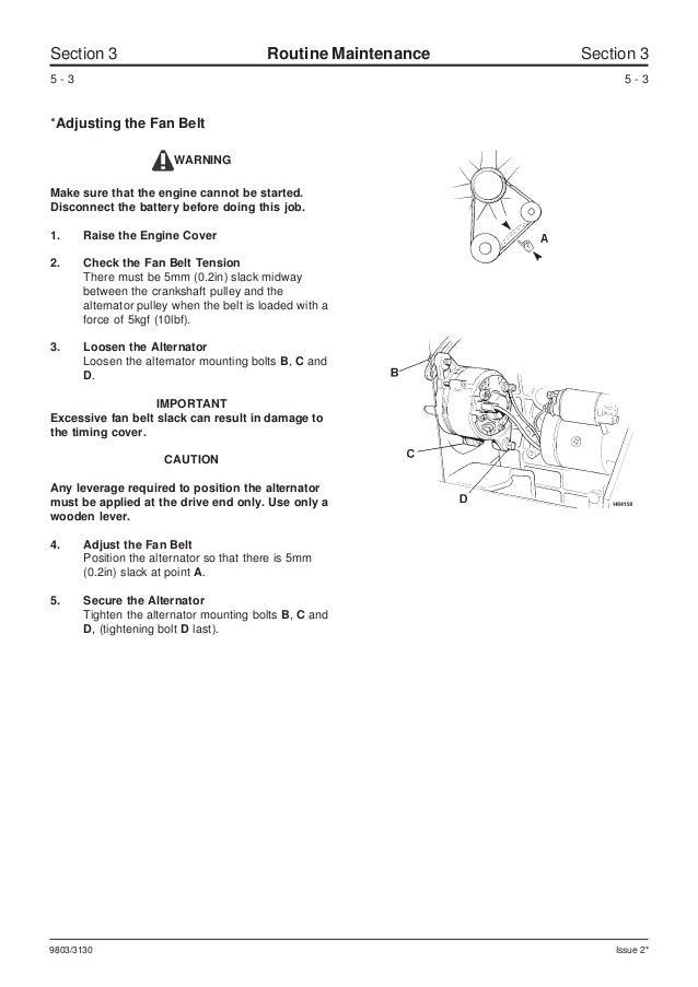 Jcb 801 5 Mini Excavator Service Repair Manual Sn Uff08730001
