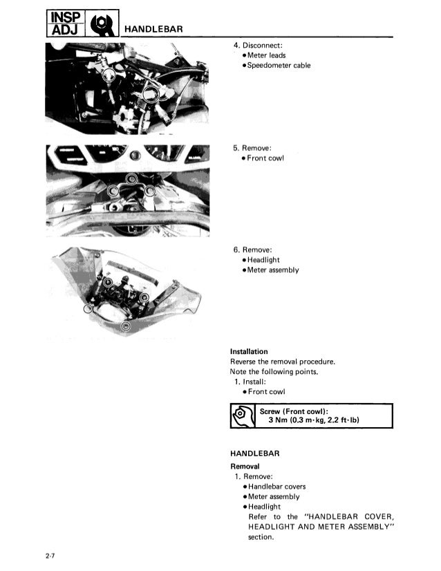 1989 Yamaha Exciter 570 Snowmobile Service Repair Manual