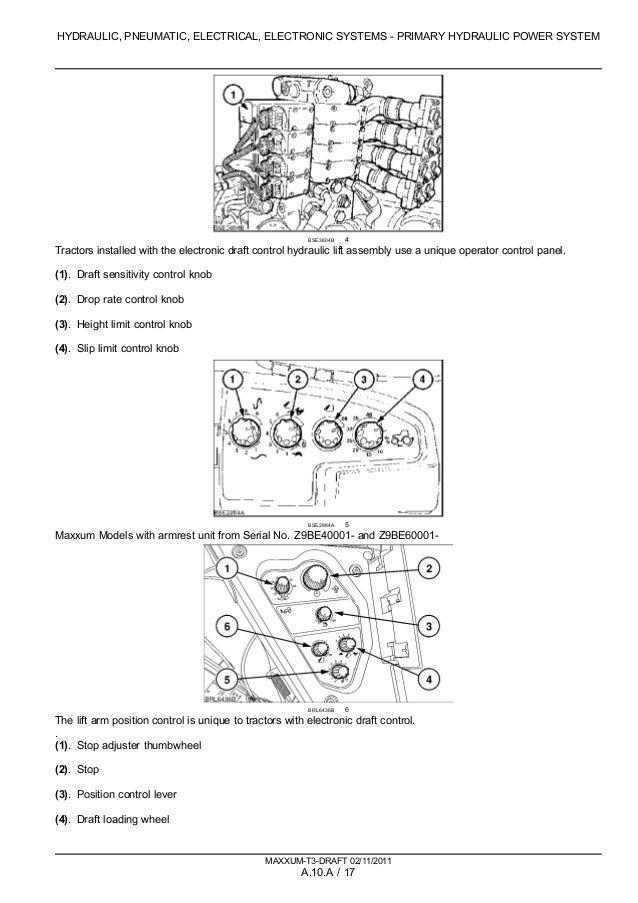 CASE IH MAXXUM 140 TRACTOR Service Repair Manual