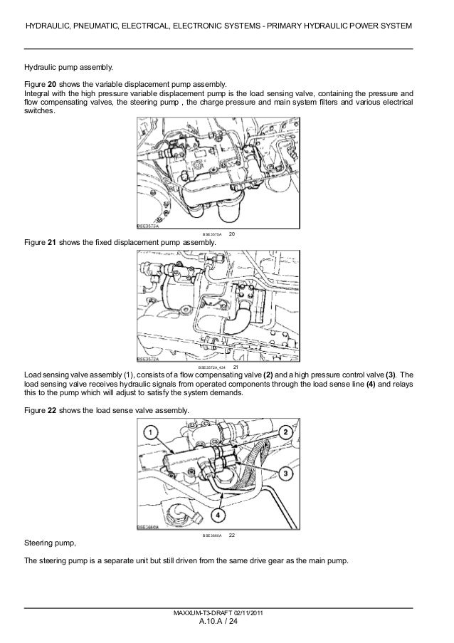 CASE IH MAXXUM 140 TRACTOR Service Repair Manual