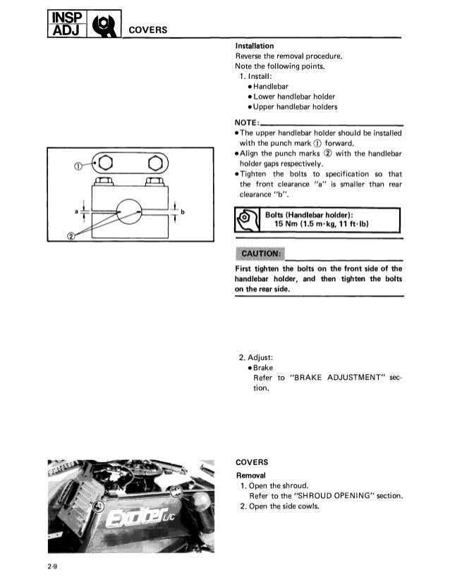 Pleasant 1987 Yamaha Exciter 570 Snowmobile Service Repair Manual Wiring 101 Tzicihahutechinfo