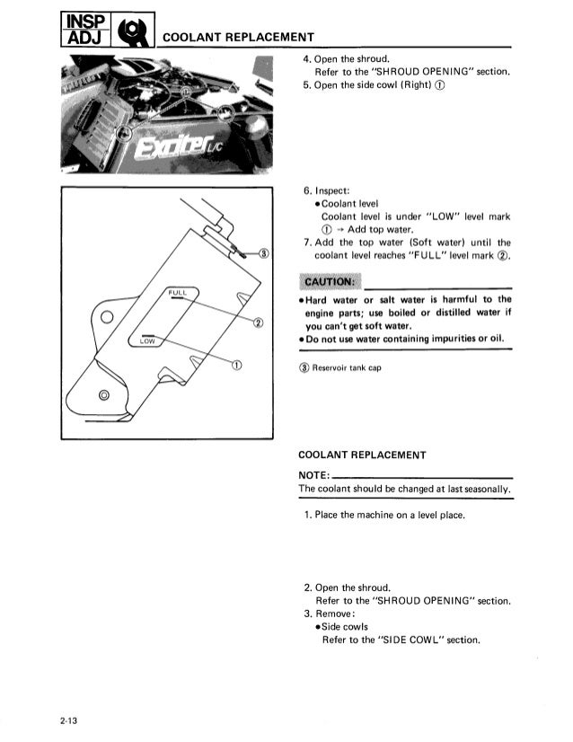 Incredible 1987 Yamaha Exciter 570 Snowmobile Service Repair Manual Wiring 101 Tzicihahutechinfo