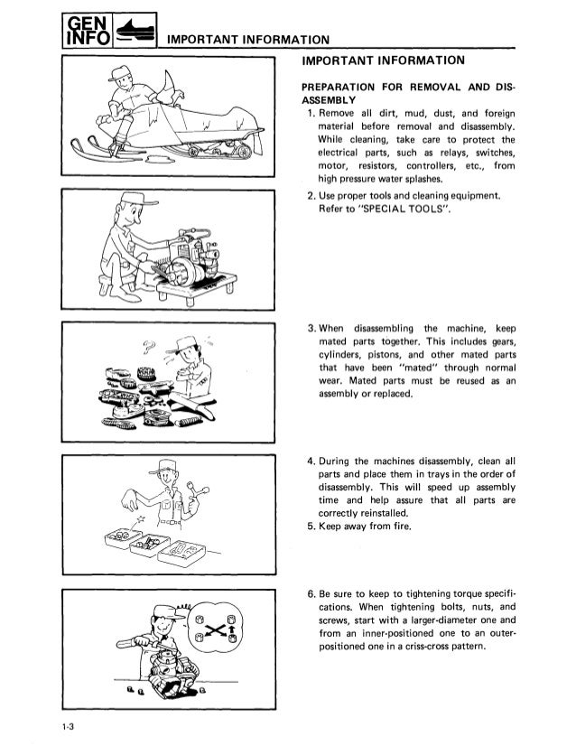Marvelous 1987 Yamaha Exciter 570 Snowmobile Service Repair Manual Wiring 101 Tzicihahutechinfo