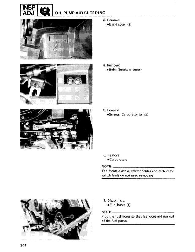 Yamaha Enticer 340 Service Manual