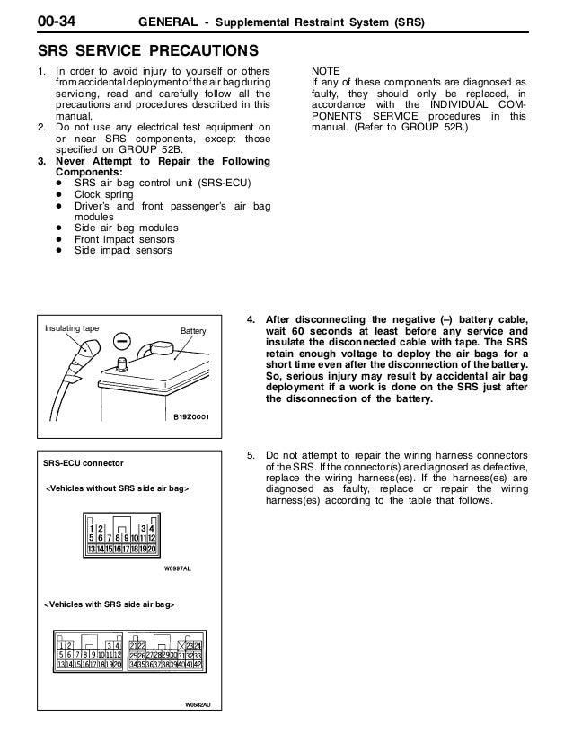 2001 mitsubishi montero pajero service repair manual Mitsubishi Montero Rear Differential 44