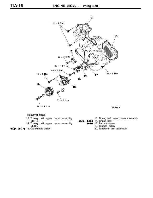 2001 MITSUBISHI MONTERO PAJERO Service Repair Manual
