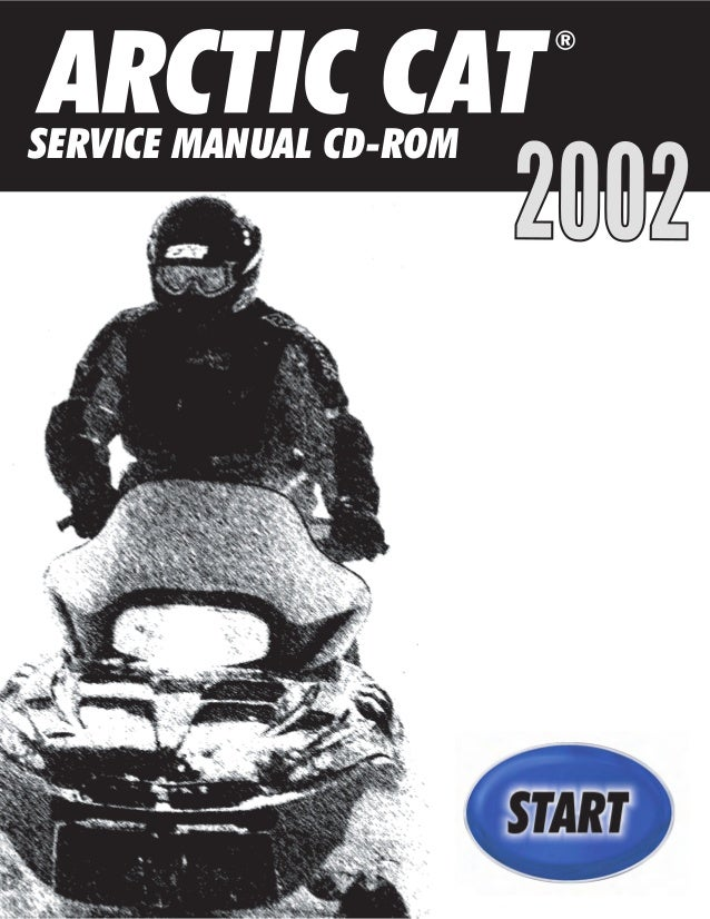 2002 Arctic Cat Mountain Cat 1000 Snowmobile Service Repair Manual
