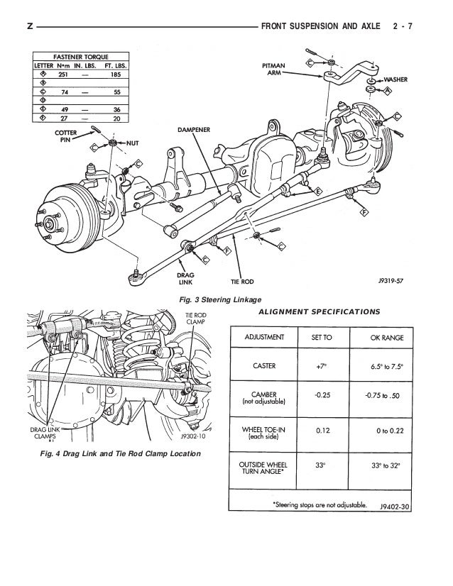 1994 JEEP GRAND CHEROKEE Service Repair Manual