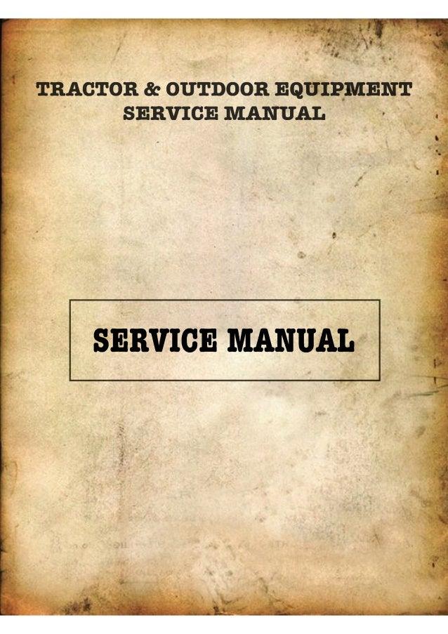 Kubota T1400 Lawn Tractor Service Repair Manual