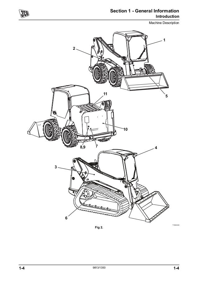 Jcb 155 Skid Steer Loader Robot Service Repair Manual