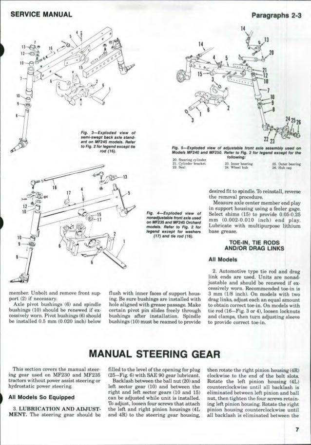 Massey Ferguson 235 Engine Diagram | Wiring Diagram