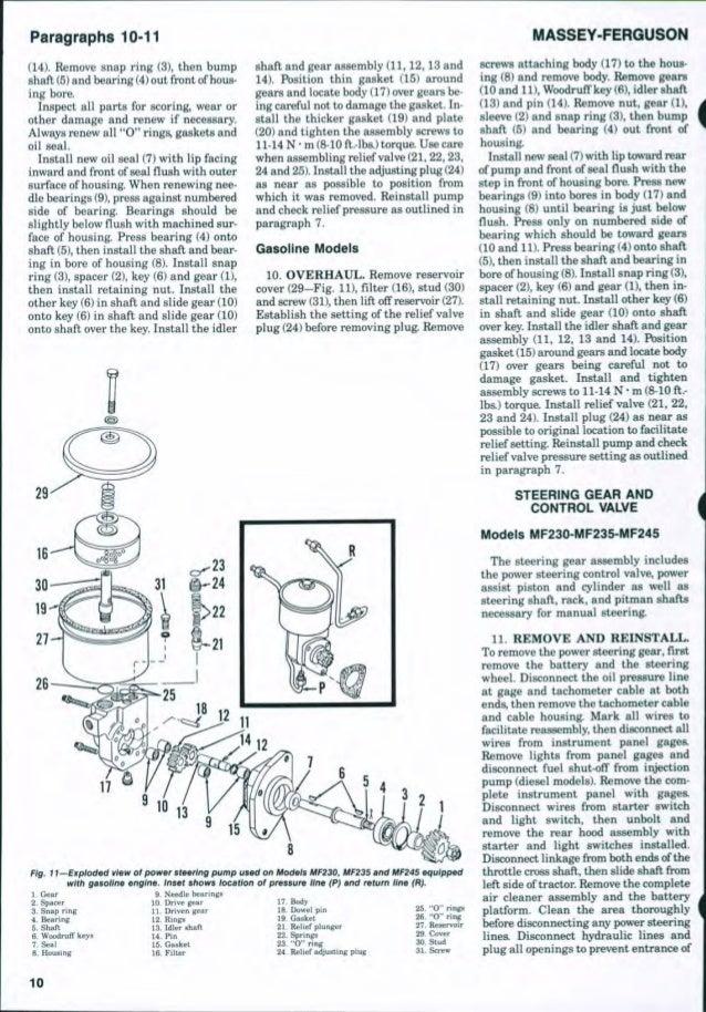 Mf 240 Starter Diagram Wiring Diagrams ROCK
