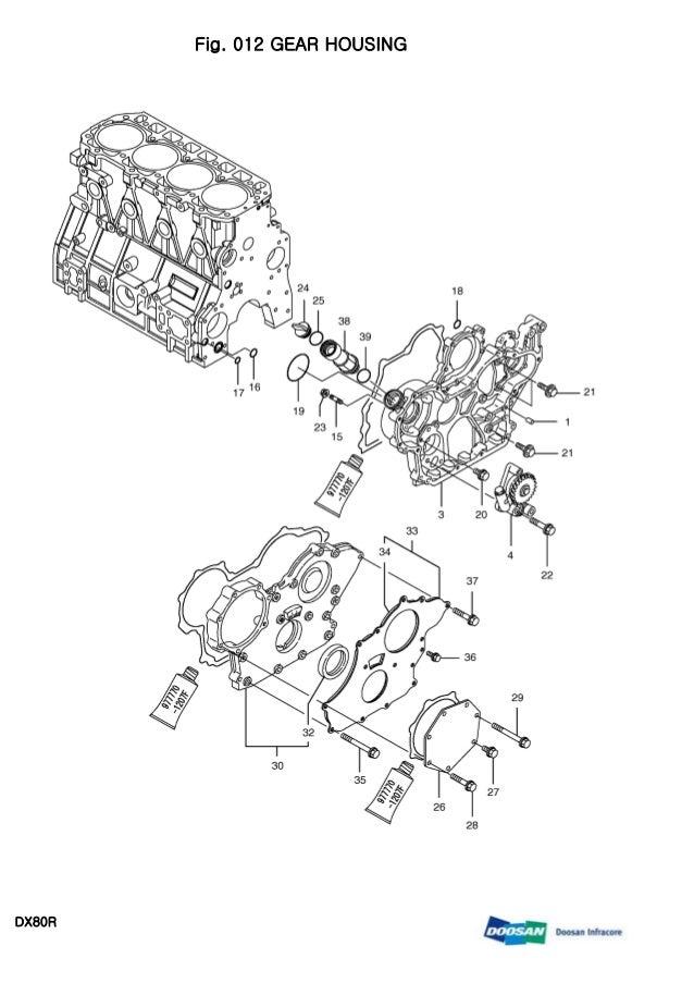 DOOSAN DX80R MINI CRAWLER EXCAVATOR Service Repair Manual