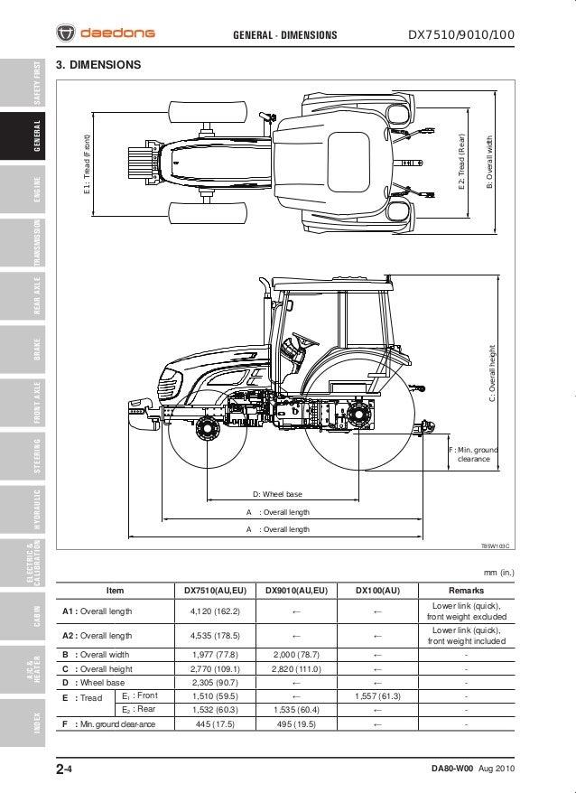Dk35se Kioti Shop Manual