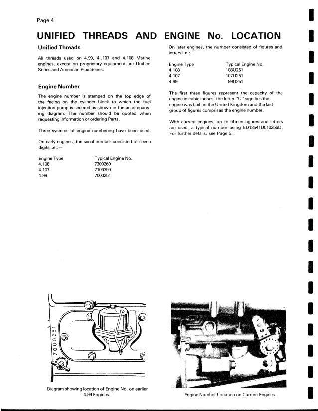 Perkins 4 108m Diesel Engine Service Repair Manual