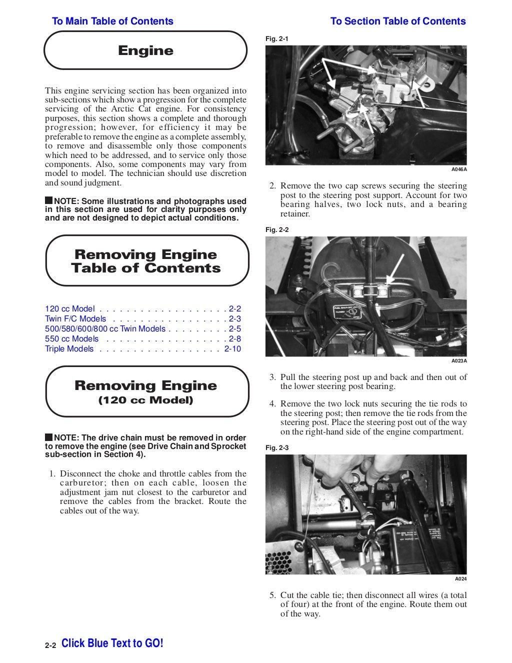 2001 Arctic Cat ZRT 600 LE SNOWMOBILE Service Repair Manual