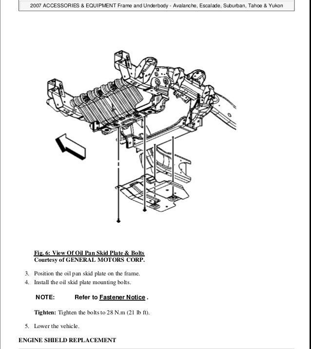 2008 Chevrolet Avalanche Service Repair Manual