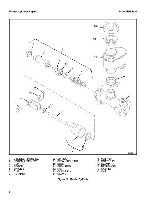 Yale G807 Erp20vt Lift Truck Europe Service Repair Manual