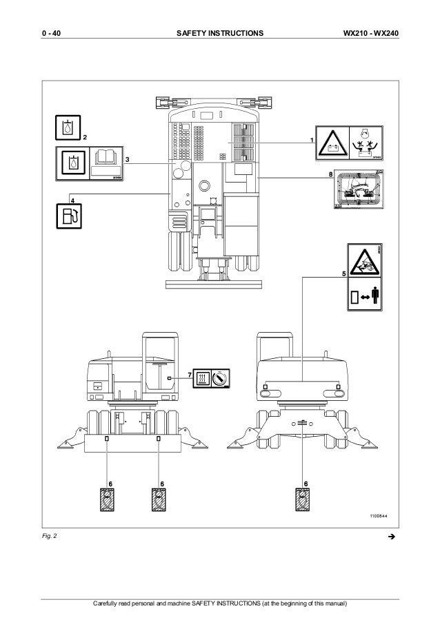 Case Wx210 Wheel Excavator Service Repair Manual