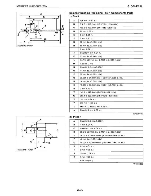 Kubota M95S Tractor Service Repair Manual