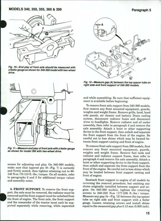massey ferguson mf399 tractor service repair manual rh slideshare net massey ferguson 265 service manual 52 HP Massey Ferguson Tractor