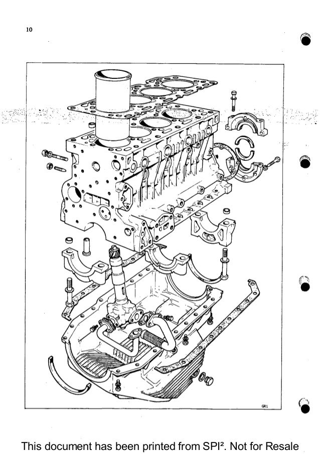 PERKINS 4.154 DIESEL ENGINE Service Repair Manual
