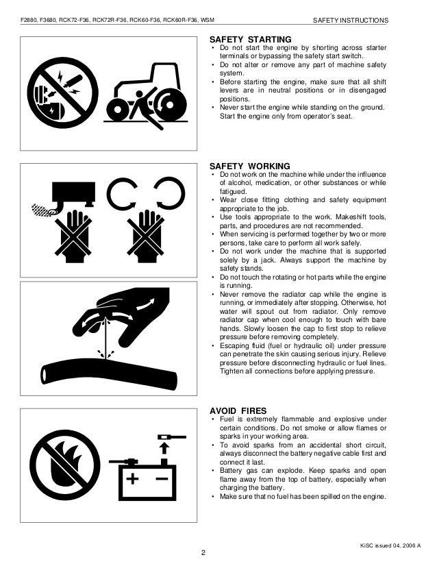 kubota f2880 front cut ride on mower service repair manual rh slideshare net Kubota RCK60- 24B Parts Kubota RCK60 Mower Deck Parts