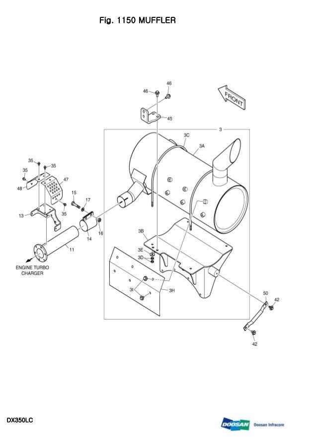 DOOSAN DX350LC CRAWLER EXCAVATOR Service Repair Manual
