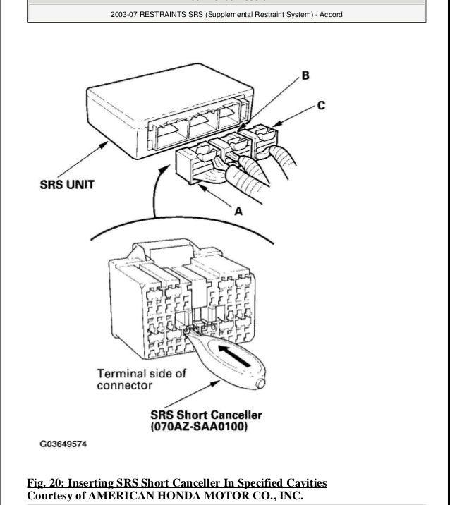 2004 HONDA ACCORD Service Repair Manual