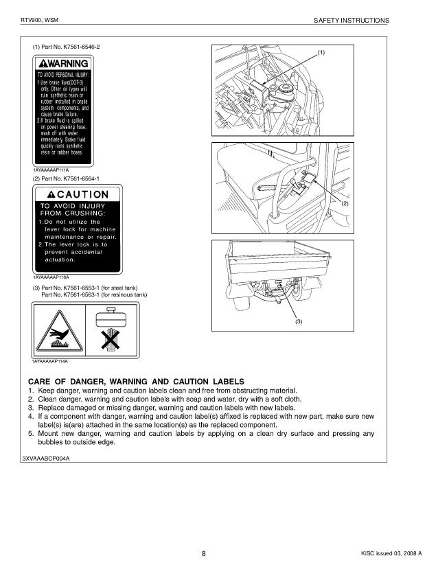 kubota rtv 900 repair manual how to and user guide instructions u2022 rh taxibermuda co Service Repair Manuals Online Makers Service Repair Manual