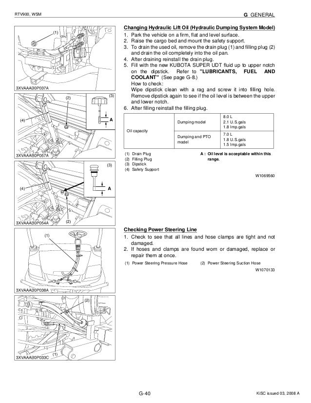 kubota rtv900 utility vehicle utv service repair manualKubota Utv Wiring Diagram #21