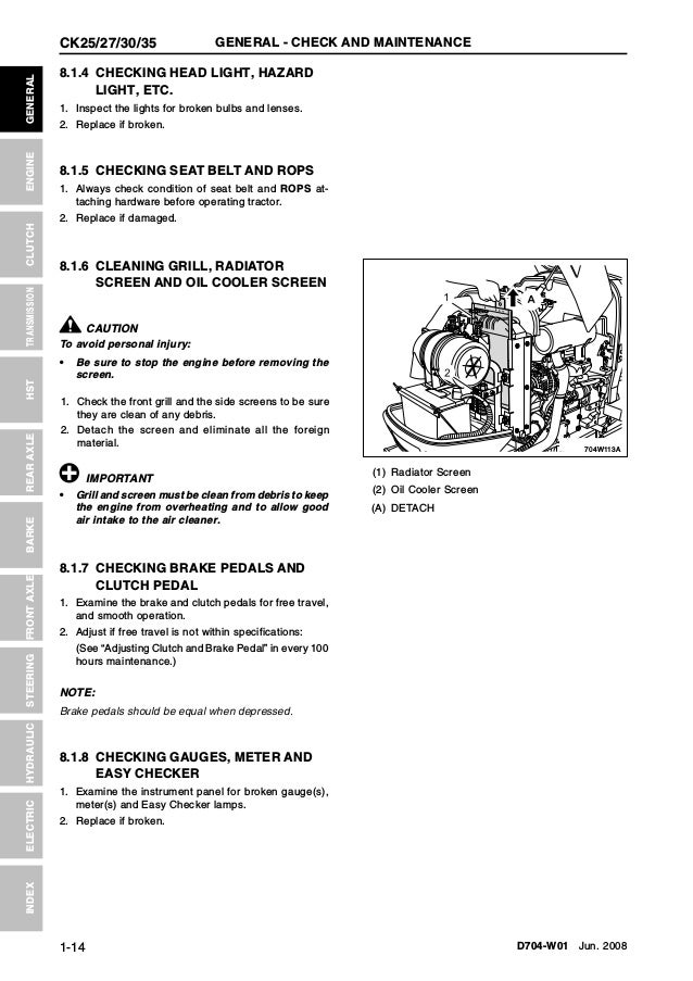 Kioti Daedong Ck Tractor Service Repair Manual on Ford F Fuse Box Locations Schematic Wiring Diagrams Explained