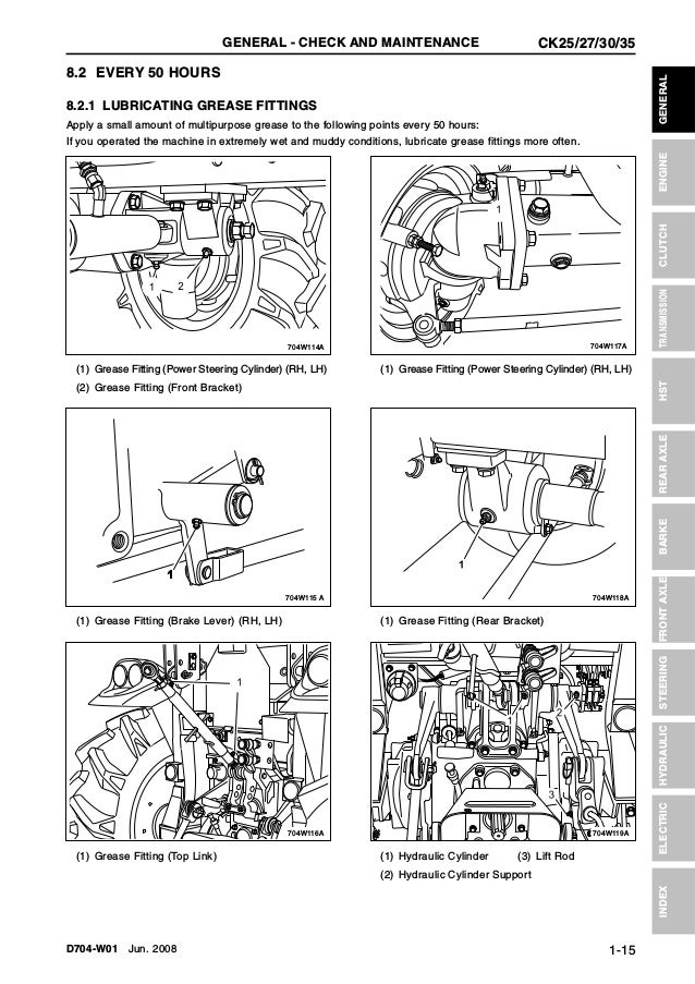Kioti Daedong Ck35 Tractor Service Repair Manual