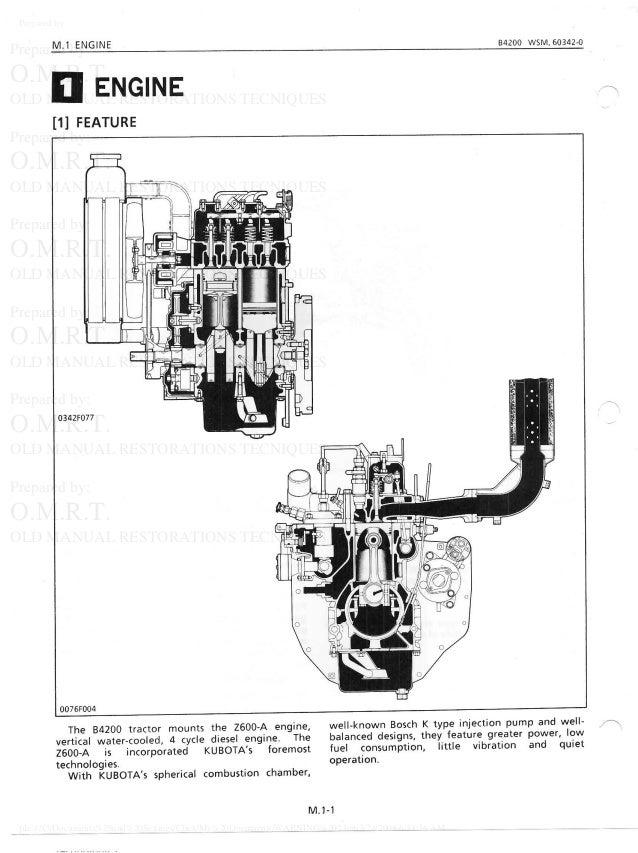 Kubota B4200 RC44-42 Tractor Service Repair Manual