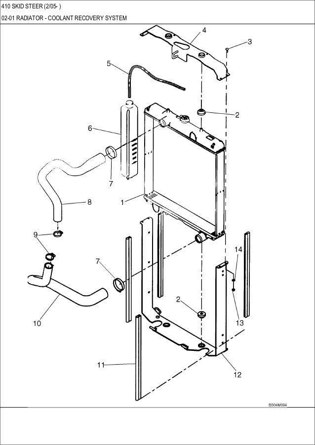 CASE 410 Skid Steer Loader Service Repair Manual