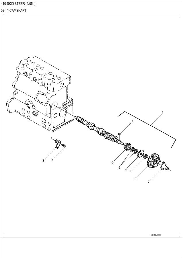 CASE 410 Skid Steer Loader Service Repair Manual