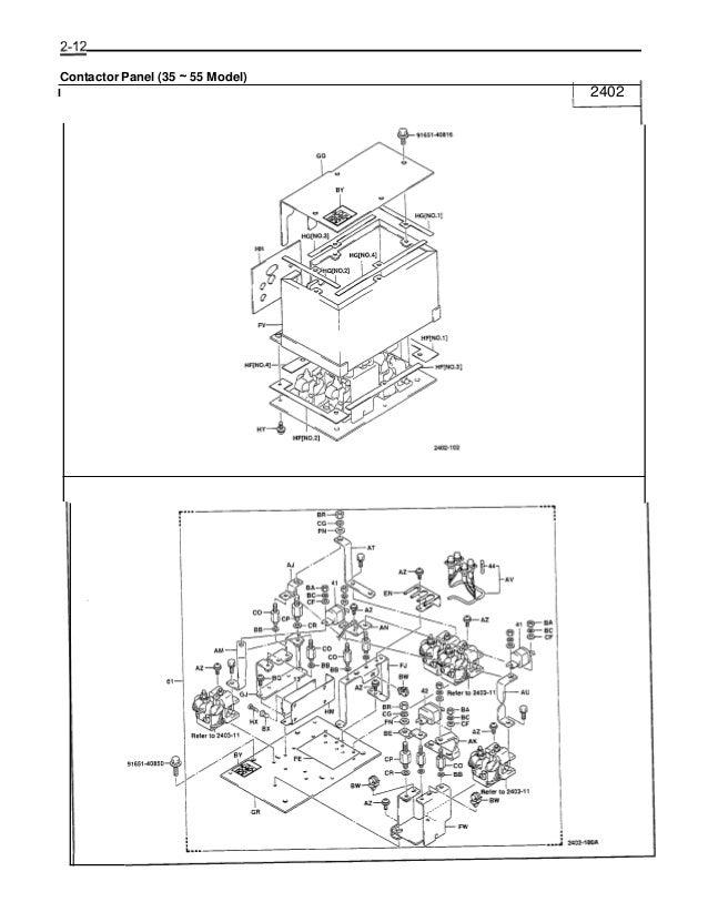 Toyota 7FBCU55 Forklift Service Repair Manual