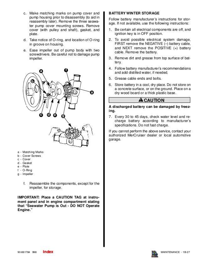MERCURY MERCRUISER MARINE ENGINE V 8 DIESEL D7 3L D TRONIC