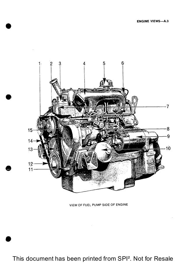 PERKINS 4.108 DIESEL ENGINE Service Repair Manual