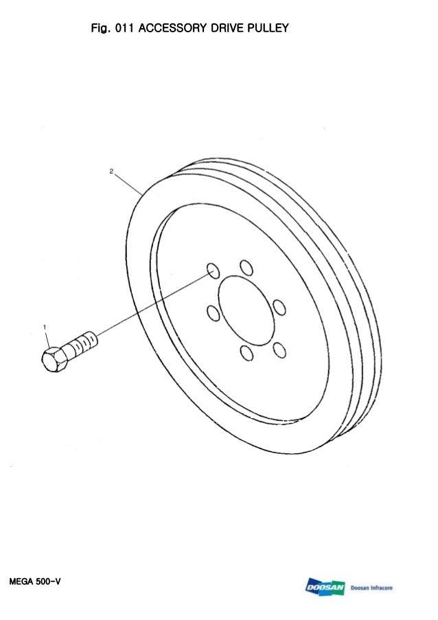 DOOSAN MEGA 500-V Wheeled Loader Service Repair Manual