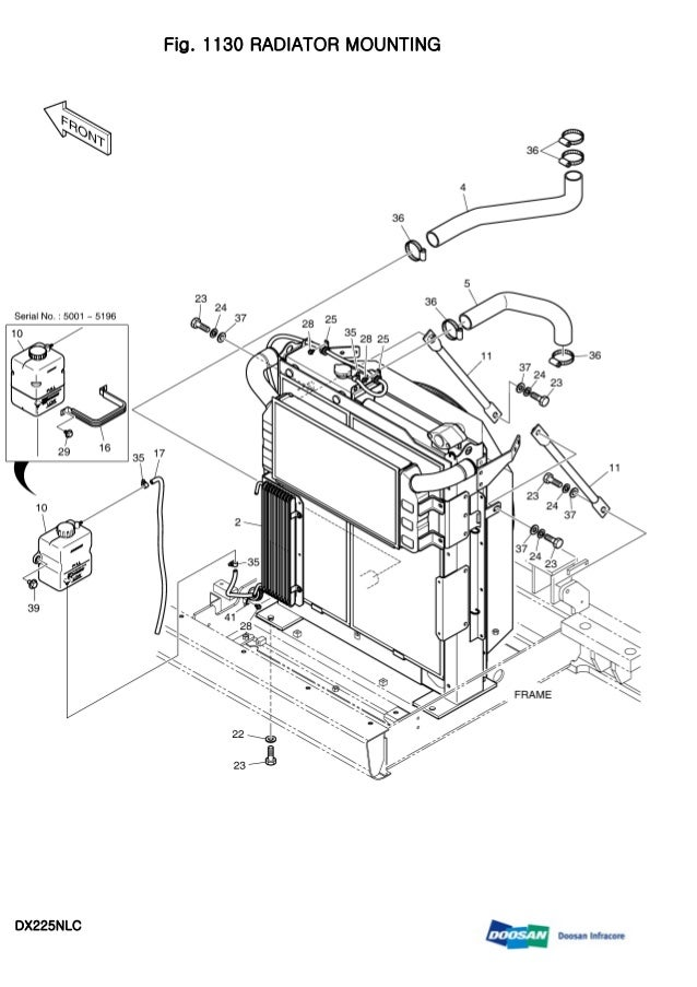 DAEWOO DOOSAN DX225NLC CRAWLER EXCAVATOR Service Repair Manual