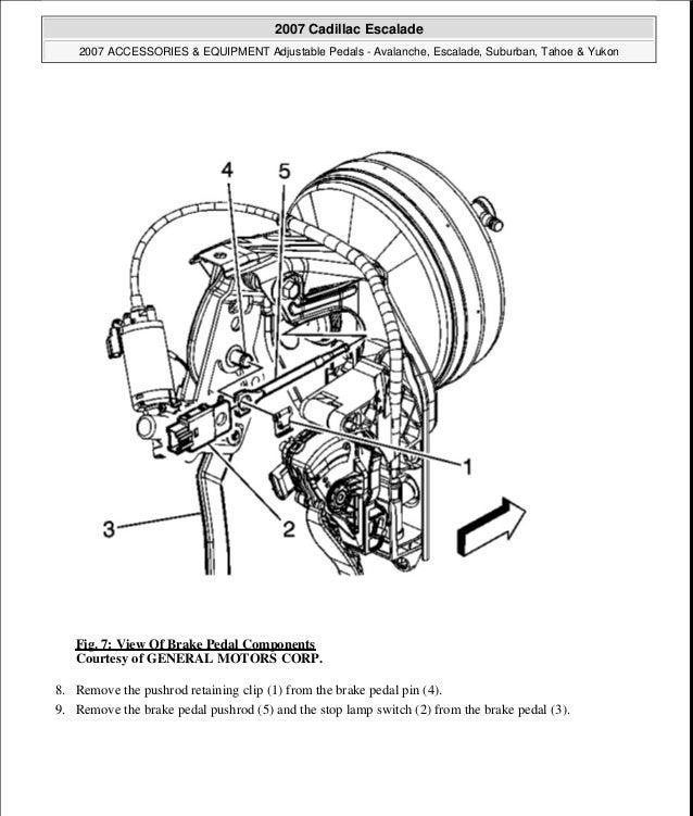 2007 Cadillac Escalade Service Repair Manual