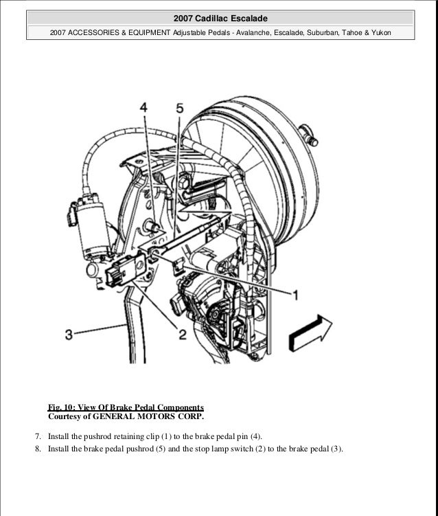 2007 Cadillac Escalade Service Repair Manual