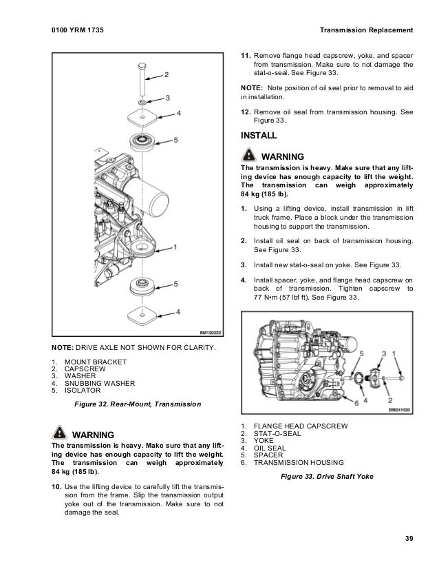 YALE D810 GLP20SX LIFT TRUCK (EUROPE) Service Repair Manual