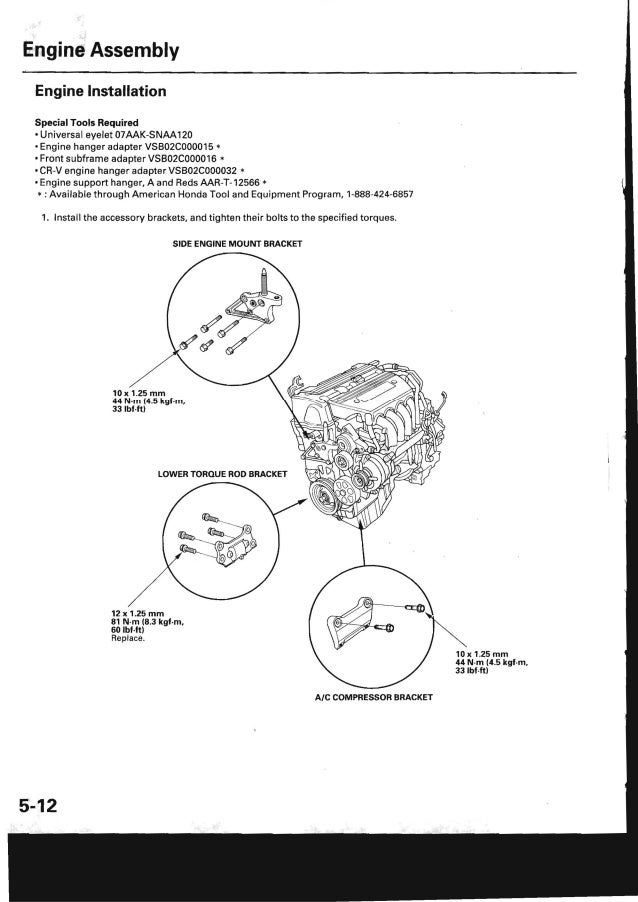 2009 Honda Crv Service Repair Manual