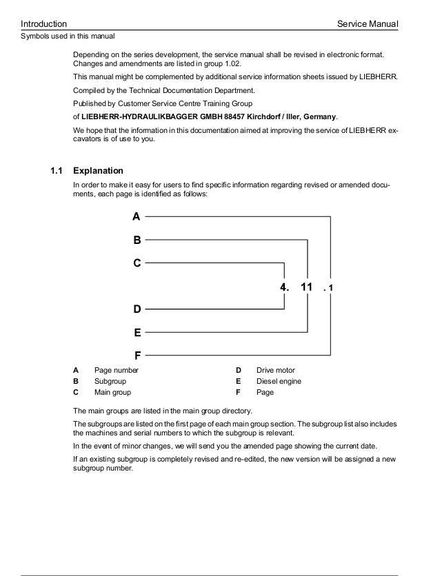 liebherr a 904 c litronic edc hydraulic excavator service repair manu  universal key switch wiring diagram