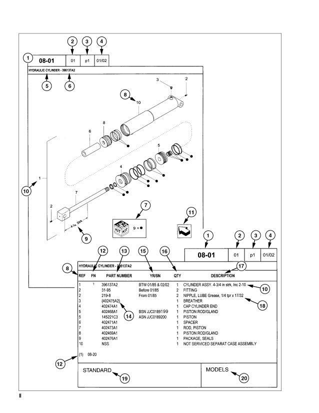CASE 440, 440CT Series 3 Skid Steer Loader Service Repair Manual Case Skid Steer Wiring Diagram on bobcat parts diagrams, tractor wiring diagrams, case xt60 repair manual, case uniloader parts, mustang skid loaders parts diagrams, bobcat skid steer hydraulic system diagrams, case trencher parts model 60,
