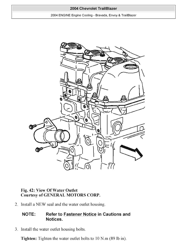 2004 GMC ENVOY Service Repair Manual