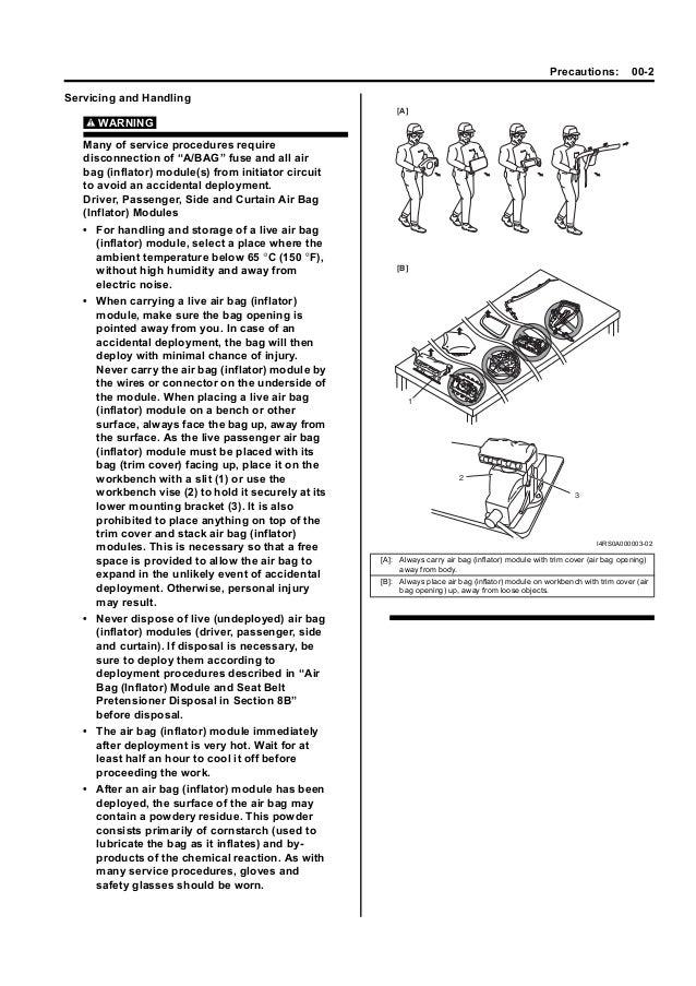 2008 Suzuki Swift Sport RS416 Service Repair Manual