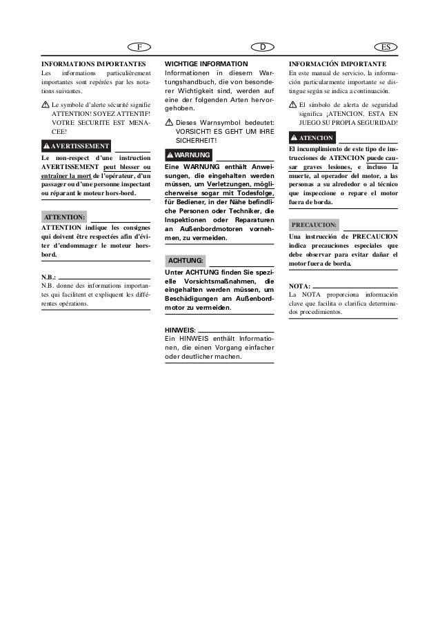 YAMAHA F25AMH, F25MH OUTBOARD Service Repair Manual S